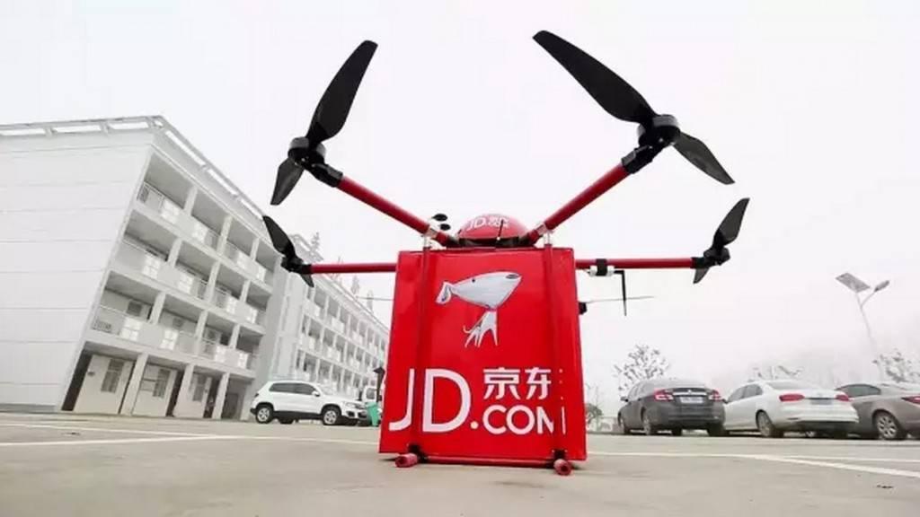京东重型无人机。京东期待重型无人机的载重达到吨级。