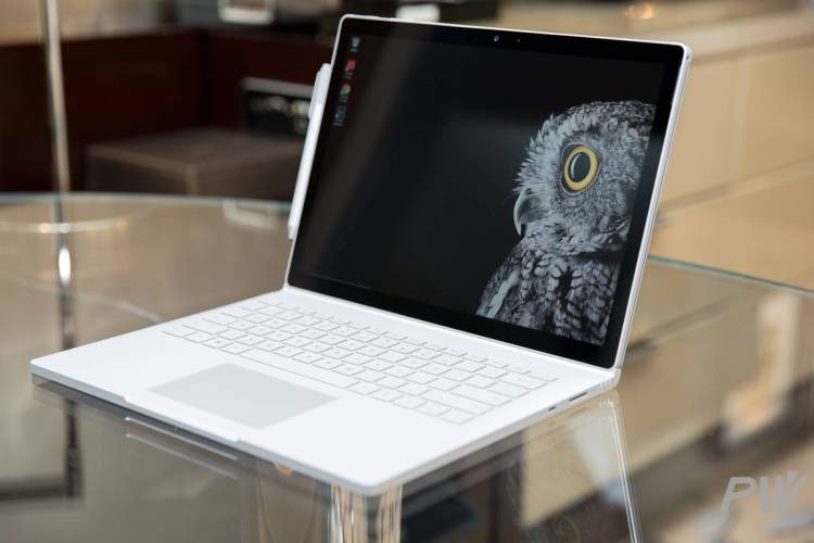 Microsoft Surface Book 2 PingWest Photo By Hao Ying-12