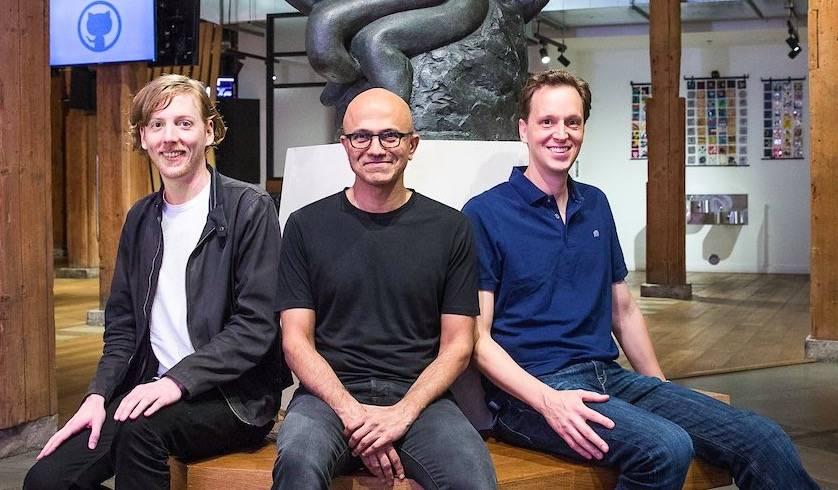 """微软买下""""同性社交网站""""Github:是时候重新爱上这两家公司了-PingWest 品玩"""